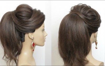 New-High-Ponytail-Hairstyle-With-Puff-For-Long-Hair