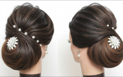 New-Wedding-Hairstyle.-How-To-Do-A-Low-Bun-With-Long-Hair