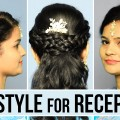 Reception-Hairstyle-For-Curly-Hair-Easy-Hairstyles-For-Wedding-Party-Function-Ladies-One