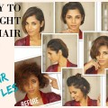 SHORT-HAIR-TRANSFORMATION-2018-Product-Review-and-hair-style-Tutorial