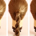 Simple-Twisted-Ponytail-Hairstyle-Simple-Twisted-Ponytail-Hairstyle-for-Long-Hair