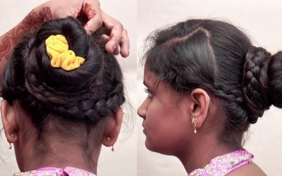 Stylish-Braided-Bun-Hairstyle-For-Long-Hair-Hairstyle-For-Girls-Hairstyles-2018