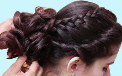 Unique-Wedding-Guest-hairstyle-for-Long-hair-hairstyles-for-Ladies-double-braid-Hairstyles