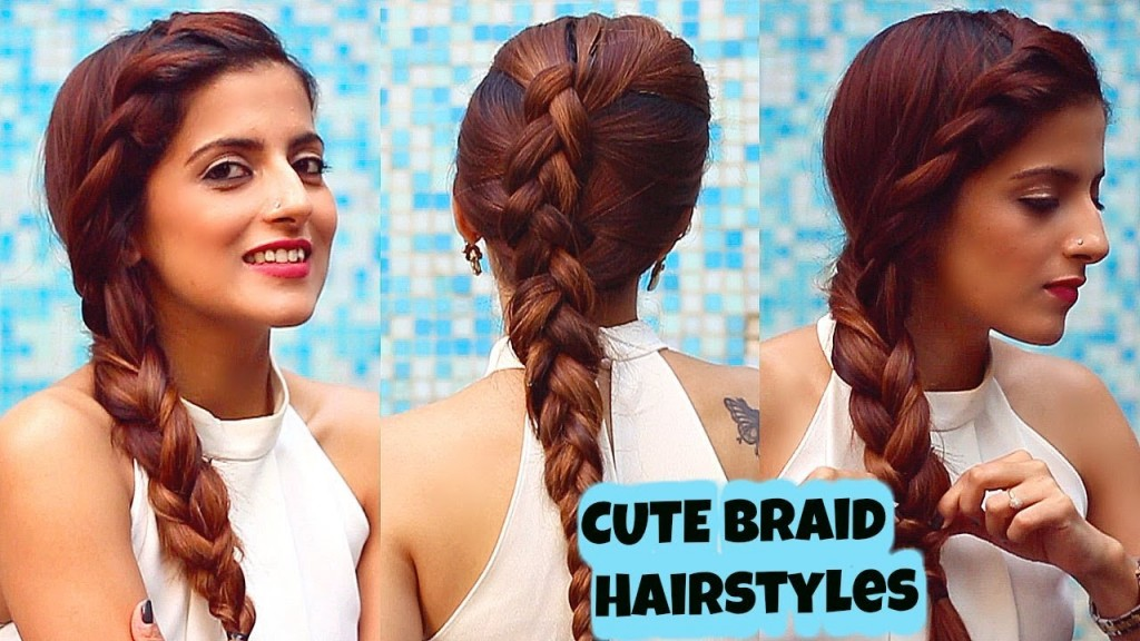 2 Everyday Cute Braid Hairstyles For Medium To Long Hair Quick