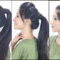 3-Simple-Cute-Ponytail-Hairstyles-For-Indian-School-College-Girls
