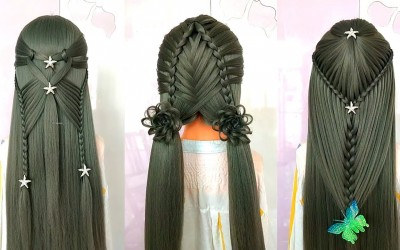 Best-Hairstyle-Transformations-Tutorial-For-Girls-TOP-40-Beautiful-Hairstyles-For-Girl-Hair-Cute-1