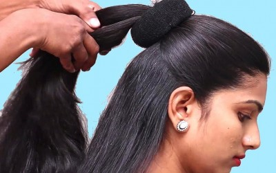 Different-bun-hairstyles-for-long-hair-Bun-hairstyles-for-partyweddingfunction