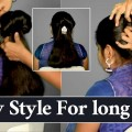 EASY-Party-Hair-Style-For-long-Hair-INDIAN-Cute-Hair-Style-partyhairstyles-Ladies-One