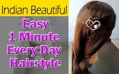 Easy-Everyday-Indian-Hairstyle-for-Long-Hair-Fashion-hairstyles