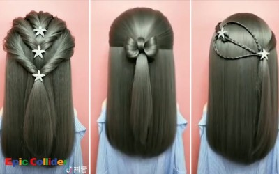 Easy-Hair-Style-for-Long-Hair-Beautiful-Hairstyles-for-School-part-2