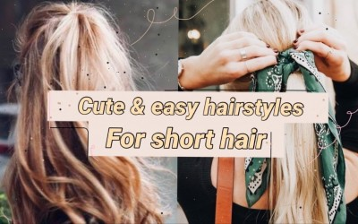 Easy-cute-hairstyles-for-short-hair