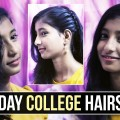 Everyday-HAIRSTYLE-Daily-Wear-Hairstyles-for-College-Girls-College-Girls-Hairstyles