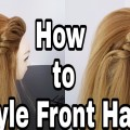 Front-Hairstyle-With-High-Crown-Hair-Easy-Hairstyles-For-CollegeWorkParty-Hairstyles