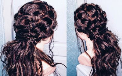 Half-Up-Hairstyles-Amazing-Long-Hair-Hairstyle-with-Braid-Bridal-Updo-