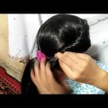 New-Beautiful-Side-Puff-Hairstyle-Natural-Hair-Side-Braid-Hairstyle-With-Puff-Women-Fashion-Tips