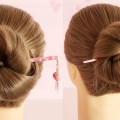 New-easy-Juda-Hairstyle-with-bun-stick-Easy-Juda-Hairstyle-for-Long-Hairs-Easy-Bun-stick-Juda