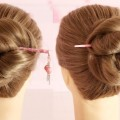 New-prom-Juda-Hairstyle-with-bun-stick-Prom-Juda-Hairstyle-for-Long-Hairs-Prom-Bun-stick-Juda