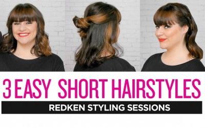 Redken-Styling-Sessions-3-Easy-Short-Hairstyles