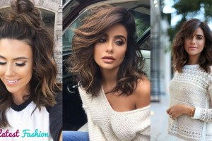 Trendy-Hairstyle-For-Women-Medium-Length-Hairstyle-for-Women