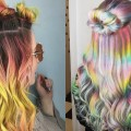Beautiful-Rainbow-Hair-Tutorials-For-Christmas-Compilations-Long-Hairstyle-Transformation-2018