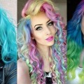 Beautiful-Rainbow-Long-Hair-For-New-Year-2019-The-Best-Long-Hairstyle-Compilation