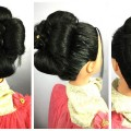 Bridal-Flower-Bun-Hairstyle-For-Long-Hair-Girls-Simple-Flower-Hairstyle-Hairstyles-And-Fashions