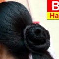 Bun-Hairstyle-for-Short-Medium-Long-Hair-Bun-Hairstyle-Tutorial-Pink-One-Tv