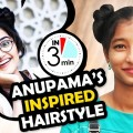 Cute-Girl-Hairstyle-Inspired-by-Anupama-Parameswaran-Latest-Hairstyle-for-Women