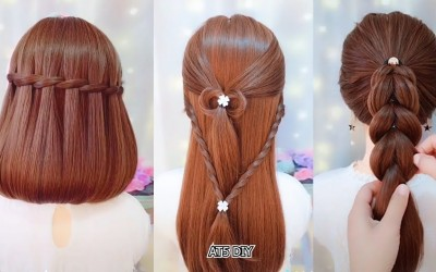 EASY-Hairstyles-For-Long-Hair-TOP-26-Amazing-Hairstyle-Tutorials-Compilation-Dec-26