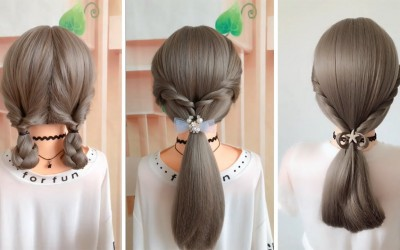 Easy-Hair-Style-for-Long-Hair-TOP-10-Amazing-Hairstyles-Tutorials-Compilation