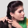Easy-Self-Hairstyle-for-Long-Hair-How-to-do-French-Braid-Hairstyle-tutorial-2018-Playeven-Fashion