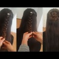 Easy-back-to-school-hairstyles-Braided-long-hair-for-girls-2019-22
