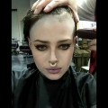 Headshave-beautiful-Girl-and-Gorgeous-Shaving-her-Head-Ep-010-Undercut-hairstyles-women