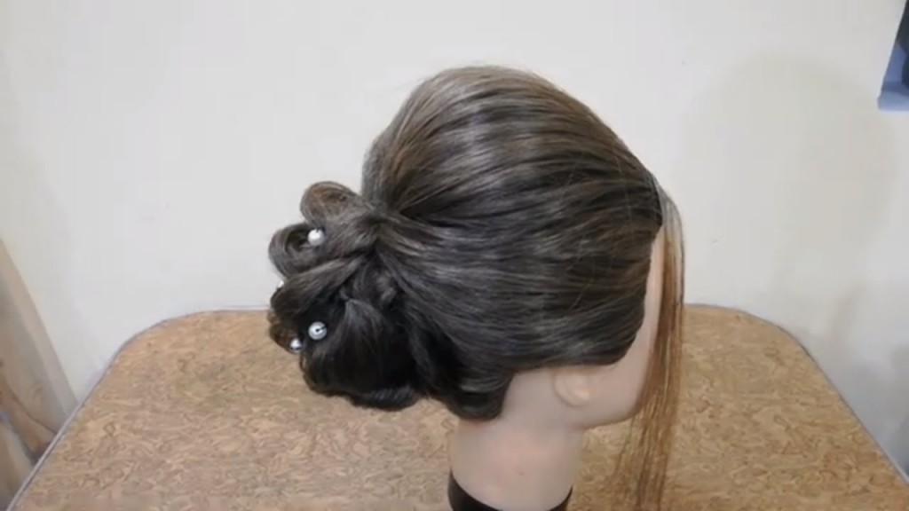 Indian Bridal Hairstyle Step By Step Video Perfect Long Hair Bun