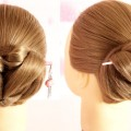 New-Easy-JudaBun-Hairstyle-For-Long-Hairs-Easy-JudaBun-Hairstyle-New-Hairstyle