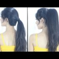 New-High-Ponytail-Hairstyle-For-School-College-Work-Long-Ponytail