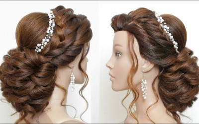 New-Latest-Hairstyle-For-Girls-And-Women.-Bridal-Updo-for-Long-Hair