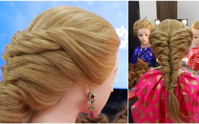 Romantic-Wedding-Hairstyle-for-Long-Hair-Hair-Prom-Hairstyles-Tutorial-12