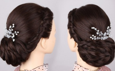 Wedding-bridal-Updo-hairstyle-for-long-hair
