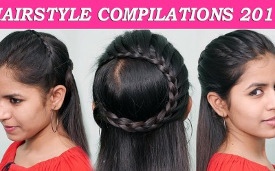 Amazing-Hairstyles-Tutorials-Compilation-2019-Everyday-Hairstyles-For-Medium-Long-hair