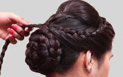 Bridal-hairstyle-for-long-hair-tutorial.-Updo-for-wedding-Easy-hairstyle-for-long-hair