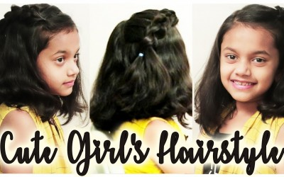 Cute-Girls-Hairstyle-2019-Super-Easy-Cute-Hairstyles-For-Little-Girls-Ladies-One-1