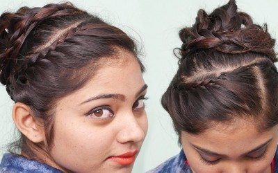 Everyday-Perfect-Bun-Hairstyle-for-Medium-Long-Hair-Tutorial-Simple-bun-hairstyles-for-everyday