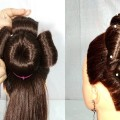 Flower-Bun-Hairstyle-using-donut-hairstyles-for-long-hair-new-hairstyle-hairstyles