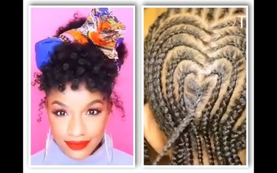 Hairstyle-Compilation-For-Black-Women-and-Kids-Natural-Hair-Braids-2