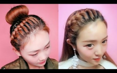 Hairstyles-for-medium-hair-and-long-hair-EASY-hairstyle-for-long-hair-at-home