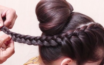 Indian-Traditional-Bun-hairstyles-for-Long-Hair-hair-style-girl-Best-hairstyles-for-2018