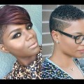 Trendy-Short-Haircuts-for-Black-Women-2019