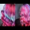 Unicorn-Frappuccino-Hair-The-Best-Long-Hairstyle-Compilation