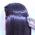 simple-braided-hairstyle-for-photoshoot-with-open-hairs-bridesmaid-hairstyles-latest-hair-style